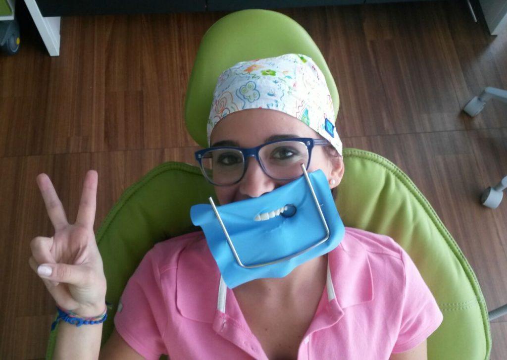 Dentista di qualità - Diga di gomma